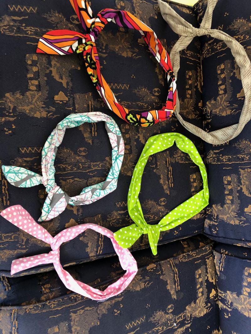 Vintage wire headbands